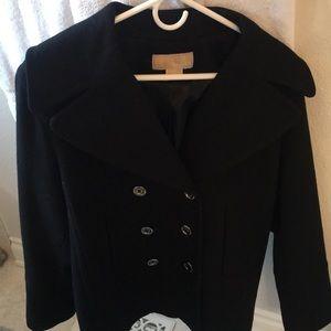Michael Kors wool Pea Coat double breasted